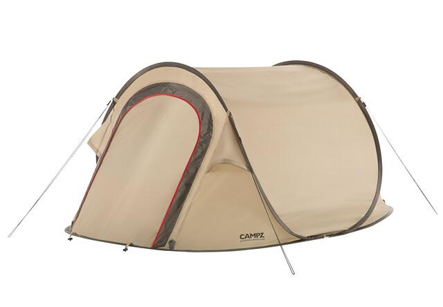 CAMPZ Lakeland 3P Telt, beige   Find outdoortøj, sko